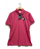 JACK BUNNY(ジャックバニー)の古着「ポロシャツ」|ショッキングピンク