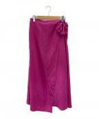 ebure(エブール)の古着「ラップスカート」 ピンク
