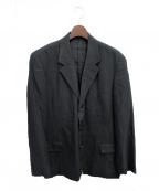 Y's for men(ワイズフォーメン)の古着「3Bコットンリネンジャケット」|ブラック