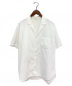 Y's for men(ワイズフォーメン)の古着「半袖シャツ」|ホワイト