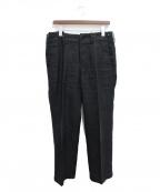 Y's for men(ワイズフォーメン)の古着「リネンパンツ」|ブラック