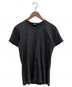 DIOR HOMME(ディオール オム)の古着「プリントTシャツ」 チャコールグレー