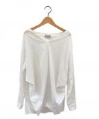 DEUXIEME CLASSE()の古着「コットンプルオーバーシャツ」|ホワイト