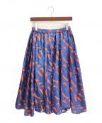 BLAMINK(ブラミンク)の古着「ロングスカート」|ネイビー