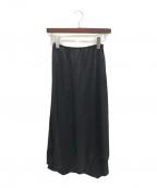 CYCLAS(シクラス)の古着「アシンメトリースカート」|ブラック