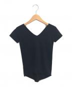 LEMAIRE(ルメール)の古着「半袖ニット」 ブラック