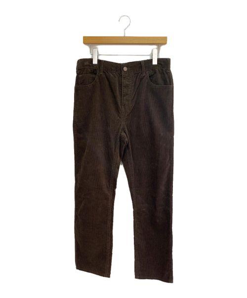 CELINE(セリーヌ)CELINE (セリーヌ) コーデュロイスリムジーンズローウエスト ブラウン サイズ:32の古着・服飾アイテム