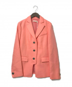 TORY BURCH()の古着「ロゴボタン3Bジャケット」|ピンク