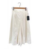 ()の古着「フレンチツイルキュロットパンツ」|ホワイト
