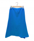 UNITED ARROWS TOKYO(ユナイテッドアローズトウキョウ)の古着「ニットスカート」 スカイブルー