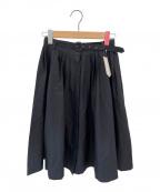 Whim Gazette(ウィムガゼット)の古着「プリーツスカート」 ブラック