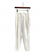 ENFOLD(エンフォルド)の古着「スリムパンツ」 ホワイト