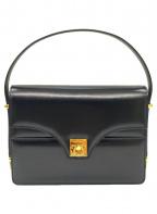 CELINE(セリーヌ)の古着「レザーハンドバッグ」|ブラック