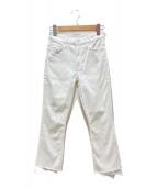 ()の古着「WHITE INSIDER CROP」|ホワイト