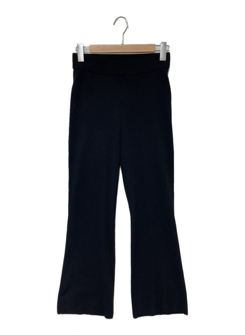 MUSE de Deuxieme Classe(ミューズ ドゥーズィエム クラス)MUSE de Deuxieme Classe (ミューズ ドゥーズィエム クラス) SWING RIB パンツ ブラック サイズ:38の古着・服飾アイテム