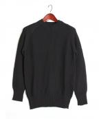 RIP VAN WINKLE(リップヴァンウィンクル)の古着「ニット」|ブラック
