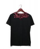Maison Margiela(メゾンマルジェラ)の古着「エイズTシャツ」|ブラック