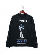 UNDERCOVER(アンダーカバー)の古着「長袖Tシャツ」|ブラック