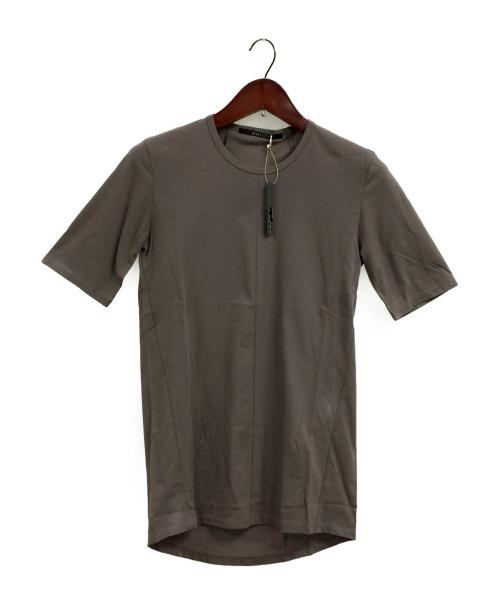 D.HYGEN(ディーハイゲン)D.HYGEN (ディーハイゲン) High Gauge Jersey Half Sleeve  チャコールグレー サイズ:1の古着・服飾アイテム