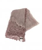 FALIERO SARTI(ファリエロサルティ)の古着「ウールストール」|ピンク