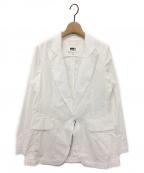 MM6 Maison Margiela(エムエムシックス メゾン マルジェラ)の古着「テーラードジャケット」|ホワイト