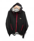 Lowe Alpine(ロウアルパイン)の古着「レインジャケット」 ブラック×ピンク