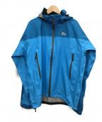 Lowe Alpine(ロウアルパイン)の古着「レインジャケット」 スカイブルー