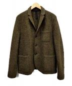 HARRIS WHARF LONDON(ハリスワーフロンドン)の古着「テーラードジャケット」 グレー