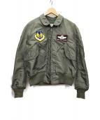 THE REAL McCOYS(リアルマッコイズ)の古着「フライトジャケット」|オリーブ