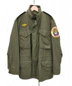 MASH(マッシュ)の古着「M-65フィールドジャケット」|オリーブ