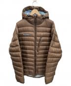Columbia(コロンビア)の古着「クレーターレイクダウンジャケット」|ブラウン×ブルー