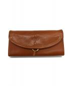 Dakota(ダコタ)の古着「かぶせ長財布」|ブラウン