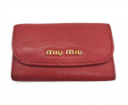 MIU MIU(ミュウミュウ)の古着「6連キーケース」|ピンク