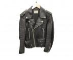 Rags McGREGOR(ラグス マクレガー)の古着「ダブルライダースジャケット」|ブラック