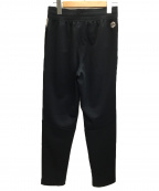 UNDER ARMOUR(アンダーアーマー)の古着「USアスリートリカバリーラベルトラックパンツ」|ブラック
