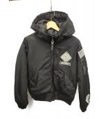 AVIREX STREET GEAR/FIELD(アビレックス)の古着「MA-1ジャケット」|ブラック