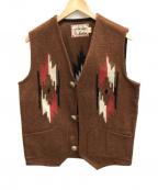INDIAN(インディアン)の古着「チマヨベスト」|ブラウン