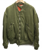 mnml(ミニマル)の古着「MA-1ジャケット」|オリーブ