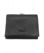 Dakota(ダコタ)の古着「3つ折り財布」|ブラック