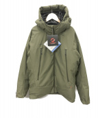 MAMMUT(マムート)の古着「Crater SO Thermo Hooded Jacket」|オリーブ