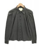 ()の古着「ギャザーシャツ」|グレー