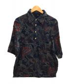 ()の古着「半袖シャツ」|ネイビー