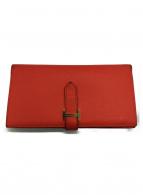 HERMES(エルメス)の古着「長財布」|レッド