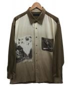 ()の古着「古着シャツ」|カーキ