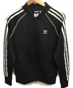 adidas(アディダス)の古着「セットアップジャージ」|ブラック