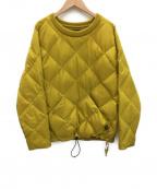 Comfy Outdoor Garment(コンフィーアウトドアガーメンツ)の古着「オーバーストレッチダウン」|イエロー
