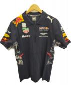 Red Bull レーシングPUMA(レッドブルレーシングプーマ)の古着「トレーニングウェア」|ネイビー
