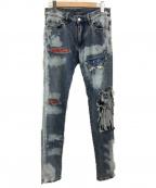 mnml(ミニマル)の古着「X161 STRETCH DENIM PANTS」