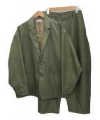 ()の古着「セットアップ」|オリーブ