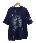BRU NA BOINNE(ブルーナボイン)の古着「Tシャツ」|ネイビー